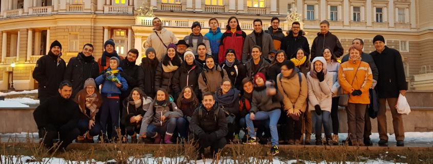 Jóvenes visitas mision ad gentes Ucrania