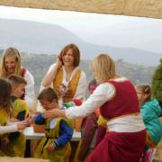 Aplec infantil del arciprestazgo en Culla