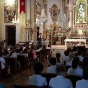 Mil alumnos de la consolación en Lledó