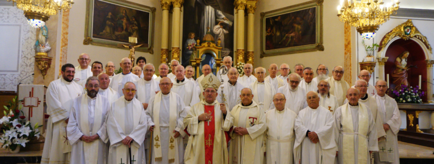 Sacerdotes mayores San Vicente