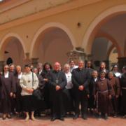 Contemplativas con el Obispo en Segorbe