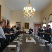 arciprestes acogida comisión clero