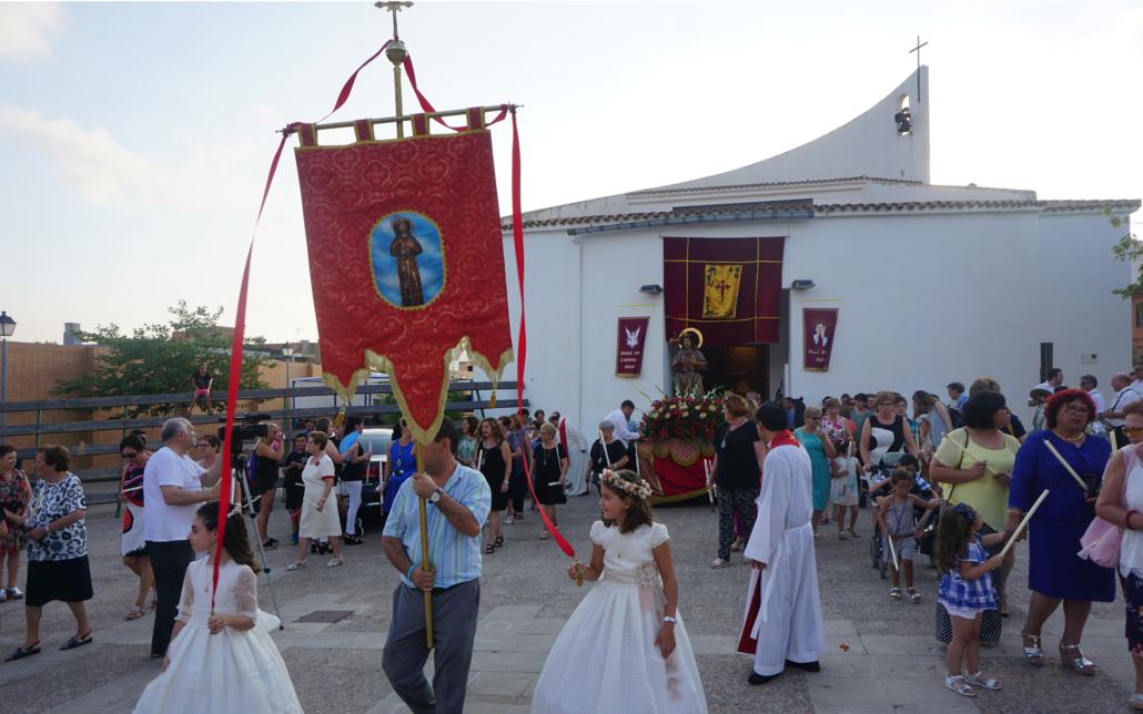 misa procesion santiago apostol vall