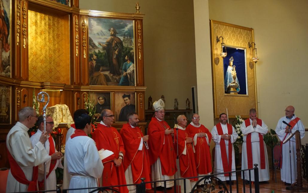 santiago apostol misa procesion