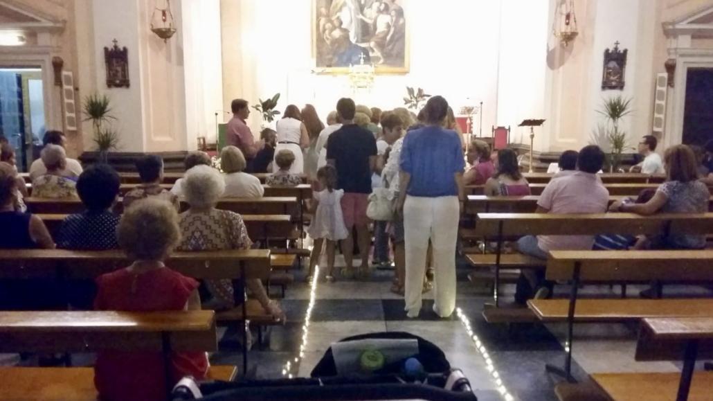 vigilia evangelización santo tomás villanueva
