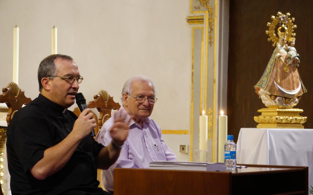 Abril y Bouché, presentación libro Stos Juanes