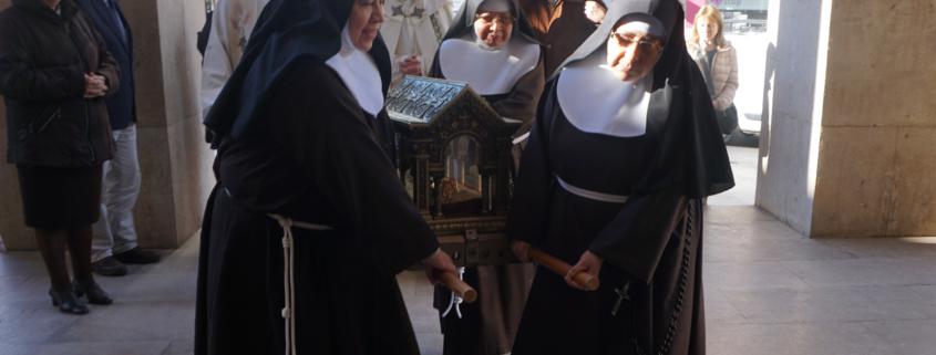 reliquias Santa Margarita Alacoque San Pascual