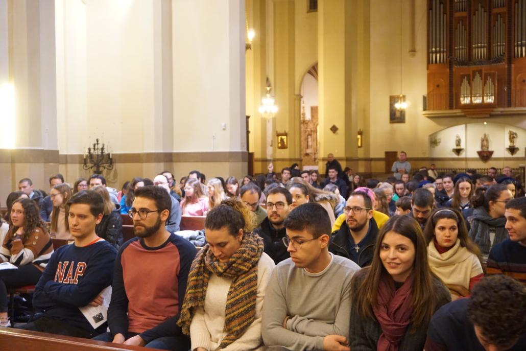 vigilia jóvenes concatedral