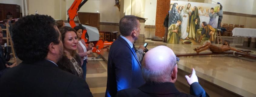 lienzos Concatedral Traver Calzada